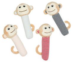 emotion and kids monkey rattles