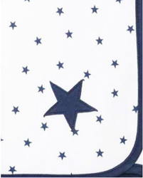 emotion and kids navy star wrap blanket