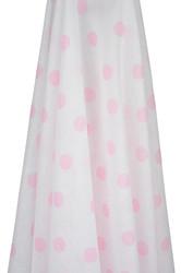 pink spots muslin wrap