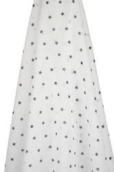navy stars muslin wrap