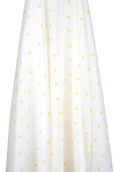 yellow stars muslin wrap
