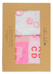 2 piece swaddle set for girls