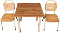 Table and chairs with WPC top