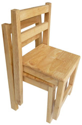 Qtoys Rubberwood Standard Kids Chair
