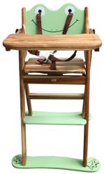 qtoys frog high chair