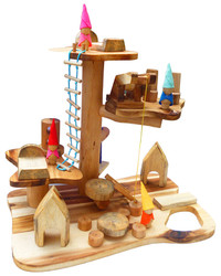 wooden play set