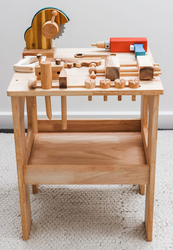 qtoys wooden workbench
