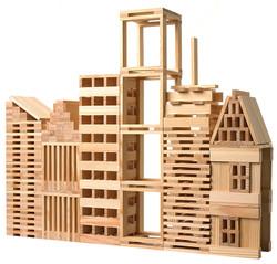 wooden city