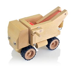 buildme wooden tow truck