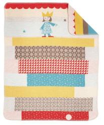 european princess baby blanket