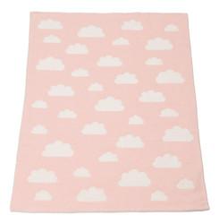 David Fussenegger Finn Blanket - Pink Clouds