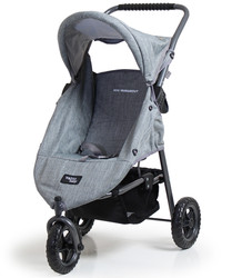 valco runabout doll pram - grey marle