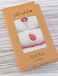 emotion and kids ladybug socks