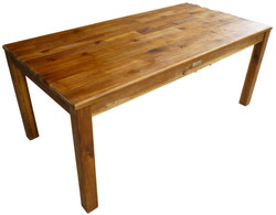 qtoys acacia rectangular wooden