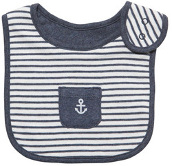 emotion and kids little sailor cotton baby bib