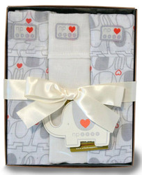 nature's purest 3 pack muslin wrap gift box
