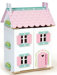 Le Toy Van Sweetheart Cottage Dollhouse With Furniture