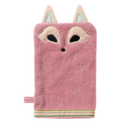 Breganwood Organics Wash Mitt - Woodland Collection - Playful Fox