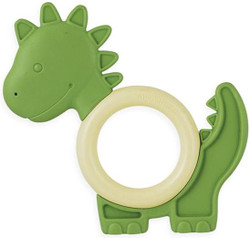 My Natural Eco Teether - Dino Green