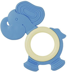 My Natural Eco Teether - Elephant Blue