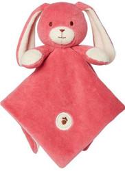 My Natural Lovie Blankies - Bunny Pink