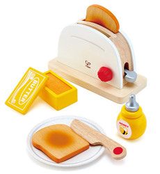 hape pretend play toaster wooden toy