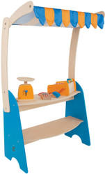 Hape Fresh Food Market Stand set