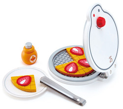 hape waffle maker pretend play toy