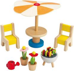 Hape Doll Furniture - Patio Set