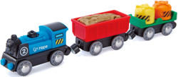 Hape Battery Powered Rolling  Stock Set