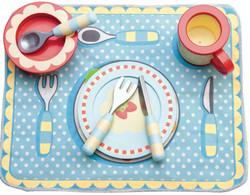 kids Le Toy Van Honeybake Dinner play kitchen