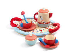 Djeco tea time wooden tea set