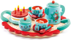 Fox's Wooden Tea Party Set
