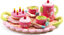 Lili Rose Wooden Tea Party Set