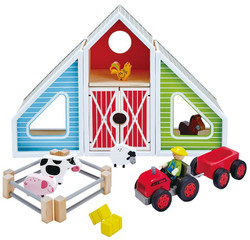 Hape Barn Play set