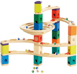 Quadrilla Whirlpool Set - Wooden Marble Run
