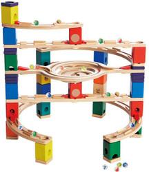 Quadrilla Loop de Loop Set - Wooden Marble Run