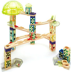 Quadrilla Space City - Wooden Marble Run