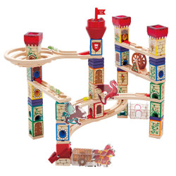 Quadrilla Medieval Quest - Wooden Marble Run