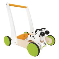 Hape Galloping Zebra Push Cart - Walker