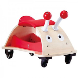 hape bug about wooden ride on
