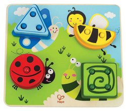hape build a bug sorter puzzle