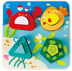 Hape Underwater Animals Toddler Puzzle