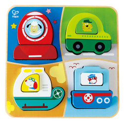 Hape Transport Toddler Puzzle