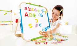 Hape ABC Magnetic Letters Kid Playing