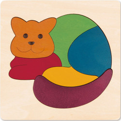George Luck Rainbow Cat Puzzle