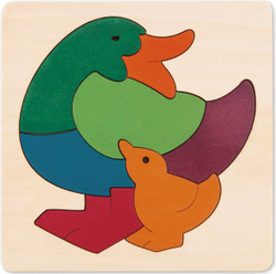George Luck Rainbow Duck Puzzle