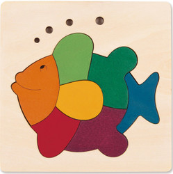 George Luck Rainbow Fish Puzzle