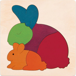 George Luck Rainbow Rabbit Puzzle