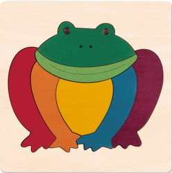 George Luck Rainbow Frog Puzzle